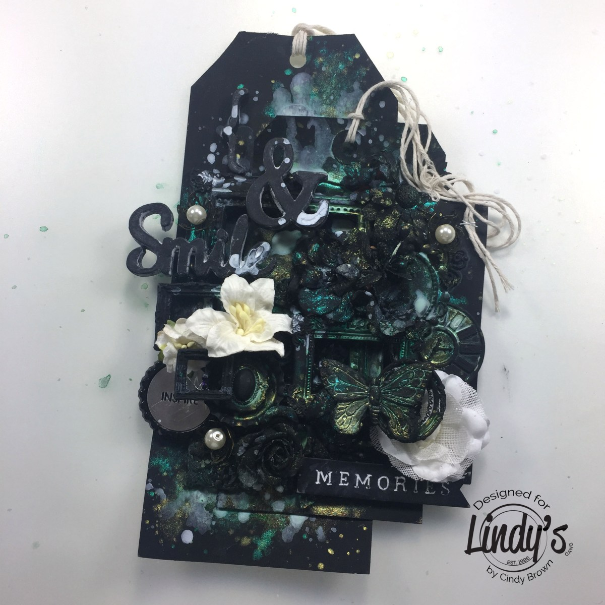 3D Black Tag with Cindy Brown